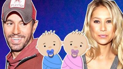 Enrique Iglesias se convierte en papá de gemelos