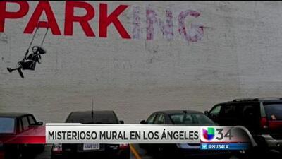 ¿Arte o graffiti en las calles de Los Ángeles?