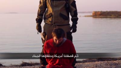 ISIS difunde video de decapitación de un supuesto espía ruso