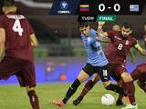 Le anulan gol a Josef Martínez y Venezuela se conforma con empate ante Uruguay