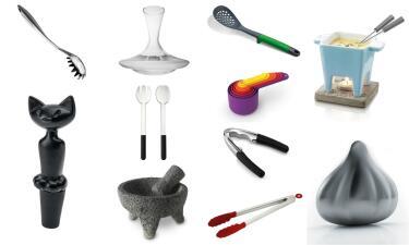 Los 32 utensilios que te harán un cocinero más feliz