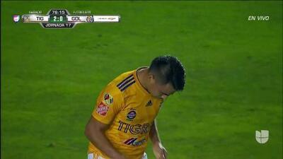 ¡GOOOL! Lucas Zelarayán anota para Tigres