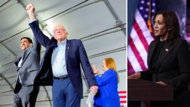 Bernie Sanders quiere que Ro Khanna reemplace a Kamala Harris en el Senado