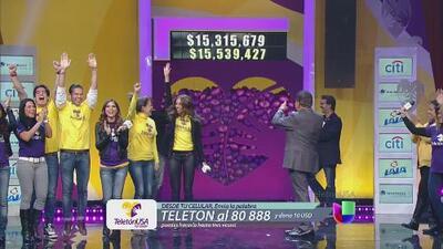 Latinos se unen para superar la meta de Teletón USA