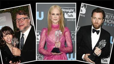 Estos fueron los ganadores de los Critics' Choice Awards 2018