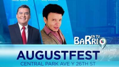 """Cancelada transmisión de """"En Tu Barrio"""" desde Augustfest por las tormentas"""