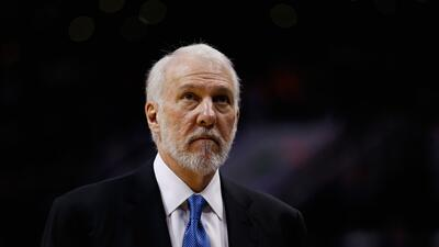 Spurs coach Gregg Popovich slides into fifth place in coaching victories