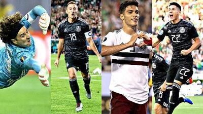 Buscando al crack: ¿quién se perfila como mejor jugador del Tri en la Copa Oro?