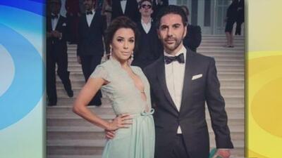 ¡Elegantísimos! Eva Longoria con su novio mexicano José Bastón