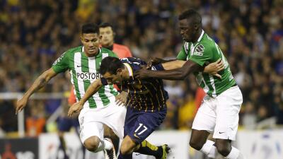 Atlético Nacional perdió el invicto ante Rosario Central en la ida de cuartos de final