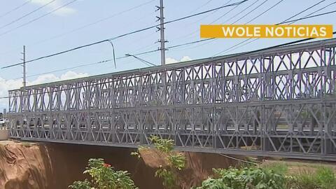 Inauguran puentes provisionales que conectarán Moca con San Sebastián
