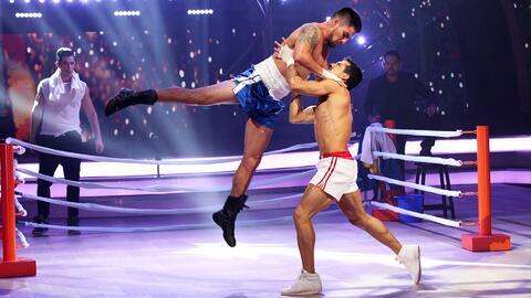 Como Rocky, Rommel Pacheco tampoco se rinde con 'Eye Of The Tiger'
