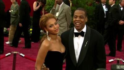 Beyoncé muy cariñosa con su 'amado esposo' en el kick off de su gira