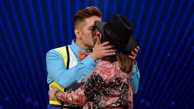 Fotos: así de tierno presentó El Dasa a Jennifer, la futura madre de sus hijos, en Mira Quién Baila All Stars