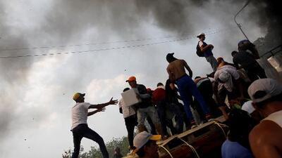 La ayuda humanitaria para Venezuela, una alegría que se tornó en tragedia
