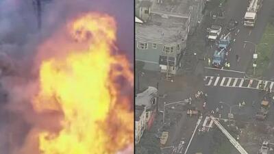 Residentes de San Francisco viven momentos caóticos ante un incendio de tres alarmas que dañó cinco edificios