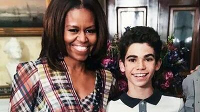 El emotivo mensaje de Michelle Obama recordando el día que conoció a Cameron Boyce