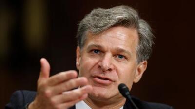 El Senado confirma abrumadoramente a Christopher Wray para sustituir a James Comey al frente del FBI