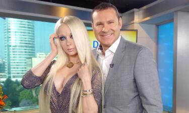 Alan Tacher conoció a la 'Barbie Humana'