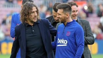 Puyol asegura que no quería ver a Messi fuera del Barcelona