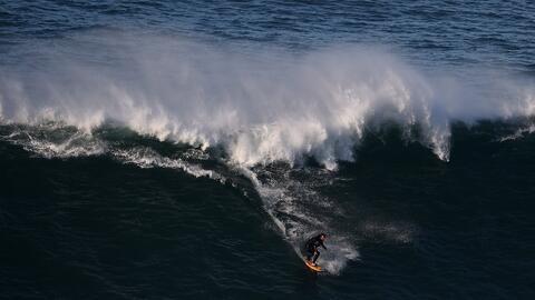 Ver para creer: brasileño surfeó la ola más grande de la historia