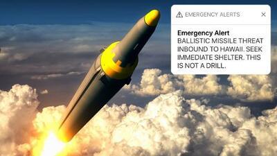 ¿Qué harías si se activa la alerta nuclear en California? Sí, aquí también puede pasar