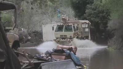 Zonas de Guerneville afectadas por inundaciones regresan a la normalidad gradualmente