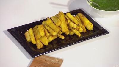 La receta: yuca frita