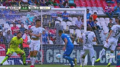 ¡Atajadón de Orozco! Le contuvo a Aguilar lo que pudo ser el empate de La Máquina