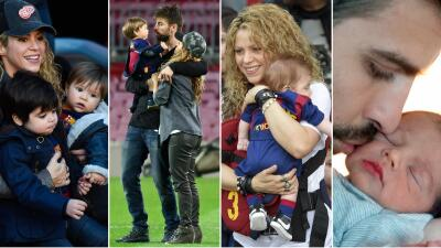 En fotos: los momentos en familia de Shakira, Piqué, Milan y Sasha