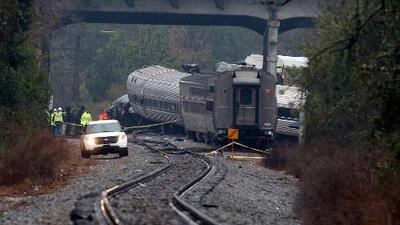 Choque de trenes en Carolina del Sur deja al menos dos muertos y más de 100 heridos