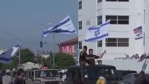 Con una protesta en Beverly Hills, piden que se detengan los ataques contra los israelíes en EEUU