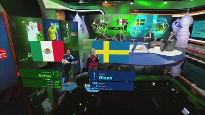 Ochoa vs Olsen: las diferencias del Tri y Suecia bajo los tres palos