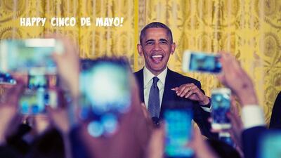 Así fue la última cena de Cinco de mayo con Barack Obama en la Casa Blanca