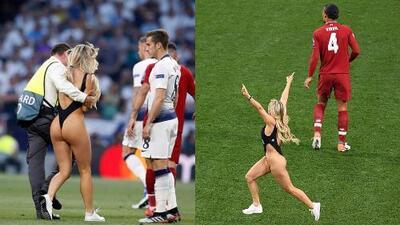 Tras aparecer en bikini en la final de la Champions, Kinsey Wolanski dice haber recibido mensajes coquetos de futbolistas