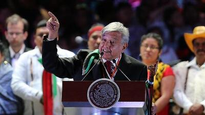 """""""Me canso ganso"""": ¿qué hay detrás de la frase mexicana, incomprensible para muchos, que usó AMLO en su toma de posesión?"""