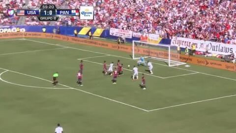 Goooolll!! Miguel Camargo mete el balón y marca para Panama