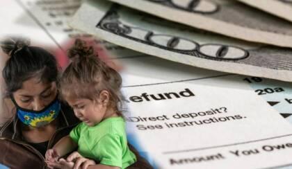 El IRS anunció la activación del portal freefilefillableforms.com en donde personas de Houston que no declaran impuestos pueden registrar a sus hijos para recibir el adelanto del crédito tributario por hijos.