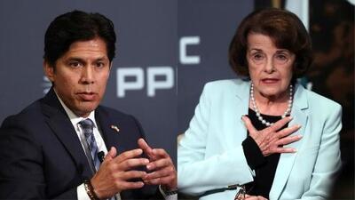 Kevin de León y Dianne Feinstein se enfrentan por un escaño en el Senado federal