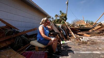 """""""El momento más aterrador que he vivido"""", hablan los sobrevivientes del huracán Michael"""