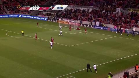 Conexión colombiana: Michael Barrios y Jesús Ferreira le dan el cuarto gol a Dallas
