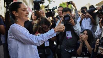 Claudia Sheinmaun se convierte en la primera jefa de gobierno electa en la historia de Ciudad de México, según proyecciones
