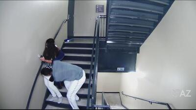Video muestra el momento en que famoso beisbolista golpea a su novia