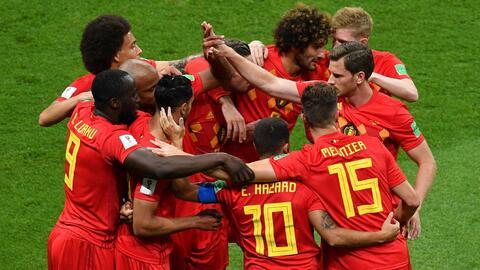 Con este autogol Bélgica se puso 1-0 sobre Brasil en los cuartos de final