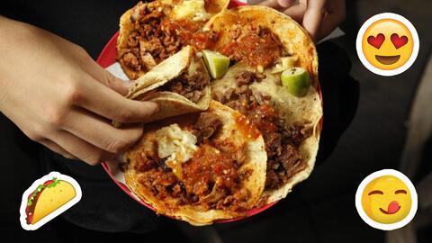 Comer tacos al pastor provoca felicidad, según encuesta