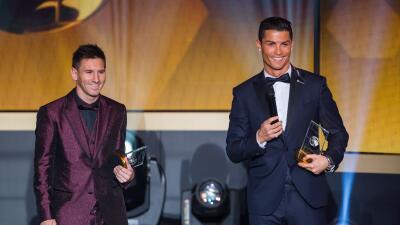 """Messi: """"No compito con Cristiano"""""""
