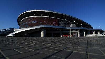 El Arena Kazán espera la hora cero para recibir la Copa Mundial Rusia 2018
