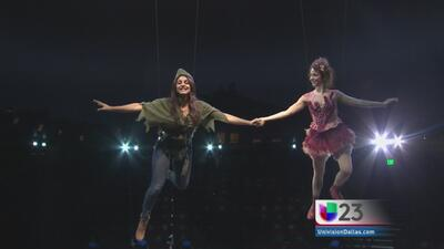 "Espectacular ""Peter Pan 360"" en Dallas"