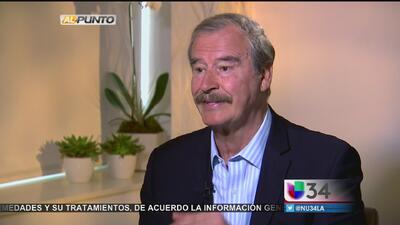 Reacciones a las polémicas declaraciones del expresidente mexicano Vicente Fox