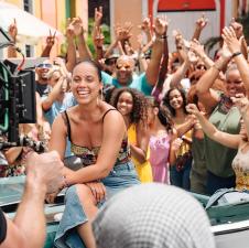 Alicia Keys estuvo en Puerto Rico para grabar con Pedro Capó y Farruko